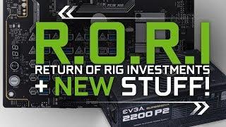 New Mining Stuff & [R.O.R.I] Return of Rig Investment Calculator