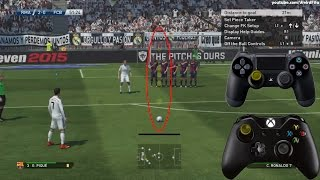 PES 2015 FREISTOSS TUTORIAL | DEUTSCH HD Thumbnail