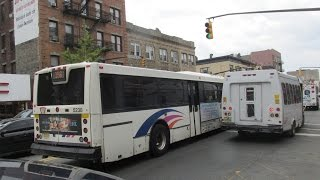NJT NABI 40-SFW #5238 on the 156 to New York via Park Ave (Inside) in HD