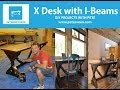 How to make a desk | Rustic Desk