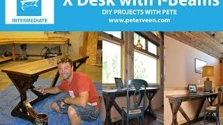 How To Build A Rustic Desk With Diy Pete - Episode 5