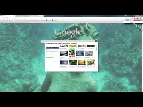 Quick Tip: Changing The Background Image On Your Google Homepage