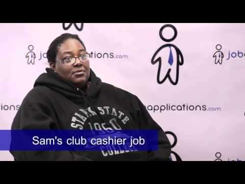 Sam's Club Interview - Cashier