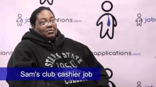 Sam's Club Interview - Cashier