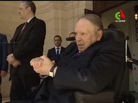 Le président Bouteflika inaugure la mosquée Ketchaoua.
