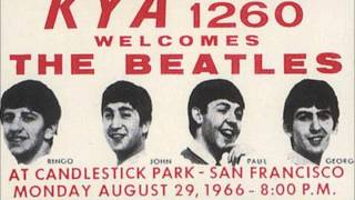 The Beatles 1966-08-29 Candlestick Park, San Francisco, CA