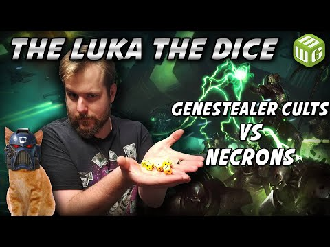 Genestealer Cults Vs Necrons Warhammer 40k Battle Report - Just The Luka The Dice Ep 14