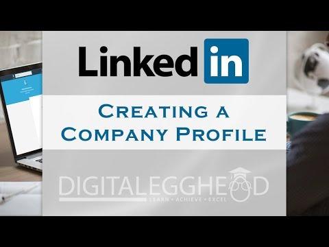 Creating a Company Page on LinkedIn 2017
