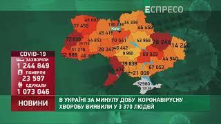 Коронавірус в Украі ні статистика за 7 лютого