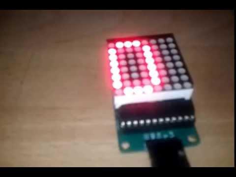 LED Matrix With Arduino: 5 Steps