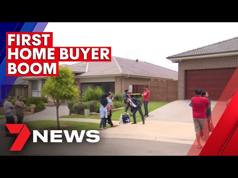 First home buyers spending big on property in Sydney's outer suburbs   7NEWS