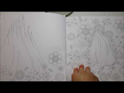 the official trolls coloring book youtube
