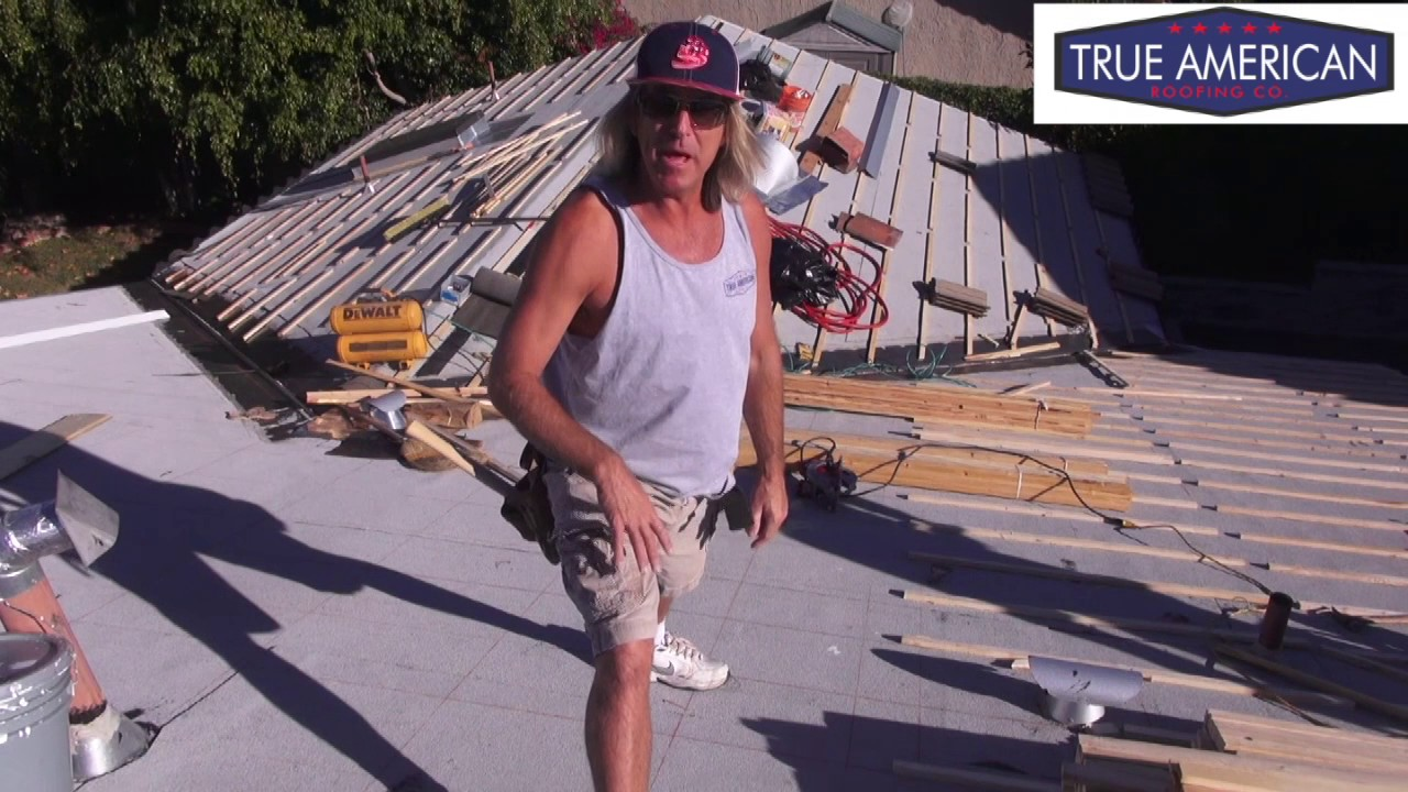 How To Install Batton Strips For S Tile Roof Beverly Hills Roofing