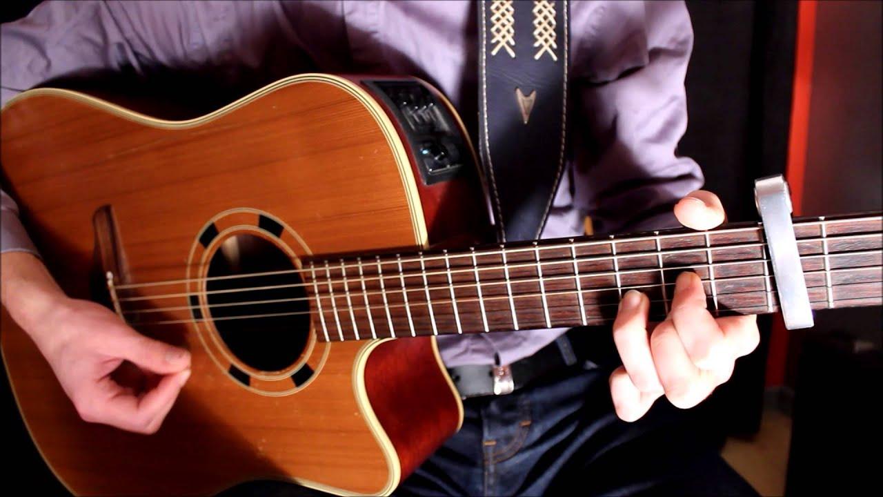 comment jouer case d part la guitare team bs youtube. Black Bedroom Furniture Sets. Home Design Ideas