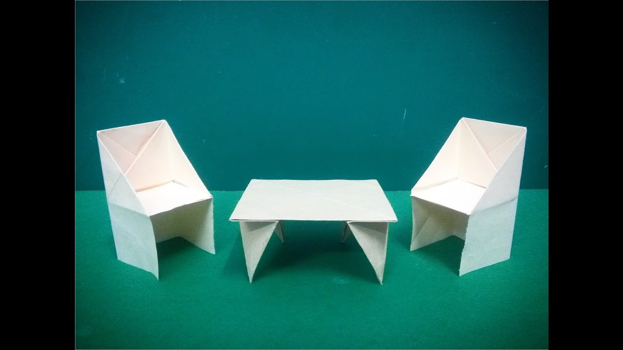 How To Make Origami Paper Table   2 | Origami / Paper Folding Craft Videos  U0026 Tutorials.   YouTube