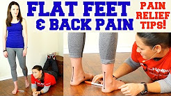 Flat Feet & Back Pain! Easy Exercise for Foot Pain, How to Fix Flat Feet & Bunions