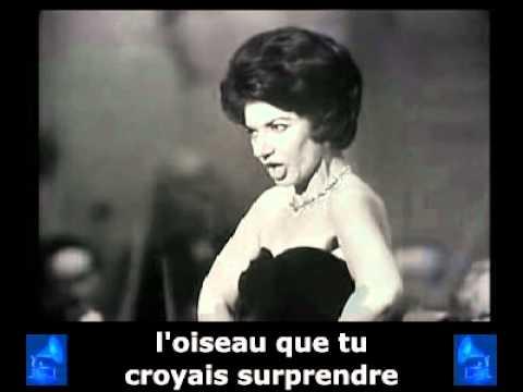Maria Callas - « Havanaise » + sous-titres