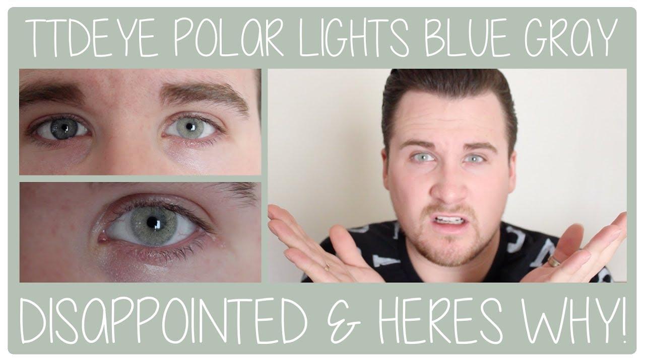Ttdeye Contact Lenses Polar Lights Blue Gray Review