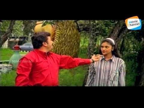Udhyam Valkannezhuthi | NJANGAL SANTHUSHTARANU | Super Hit Malayalam Movie Song | Jayaram | Abhirami