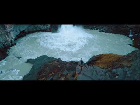 Waterfalls in Iceland -- Drone shot with DJI Mavic Pro