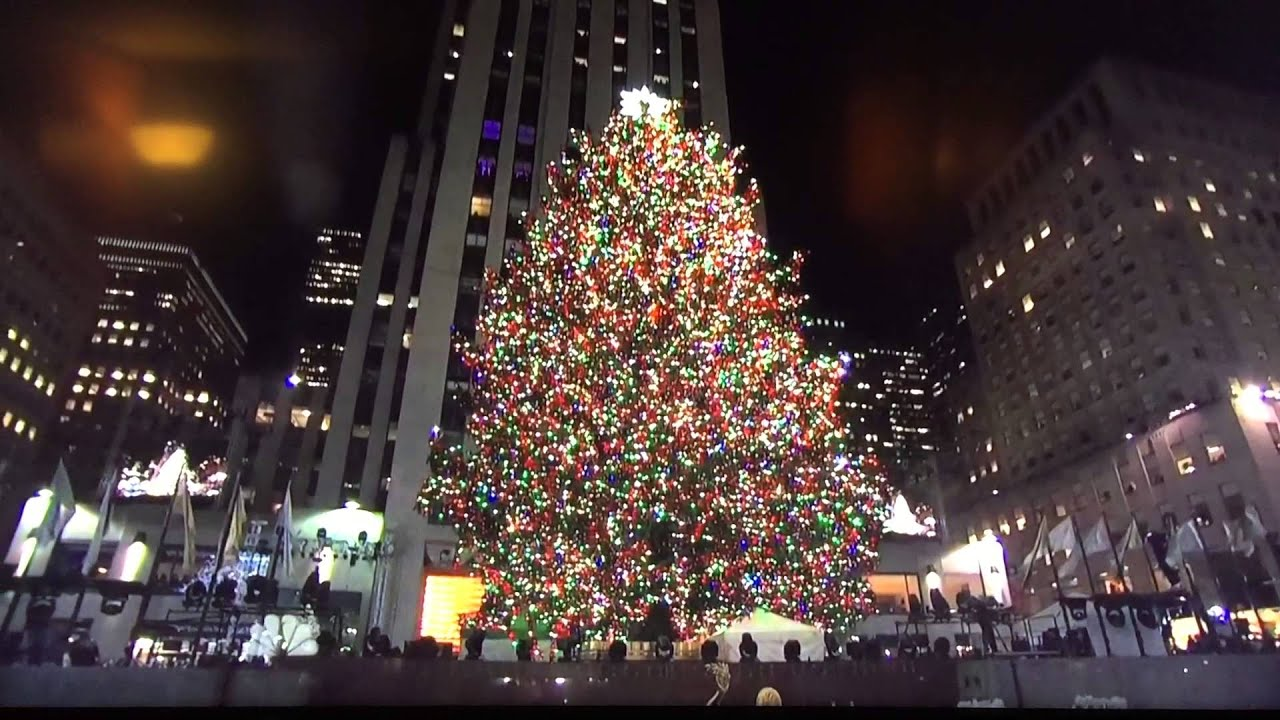 Christmas In Rockefeller Center Tree Lighting. December