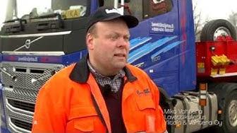 Neste Oil B2B-asiaskasreferenssi: Lavettikuljetus Ylitalo & Vahtera
