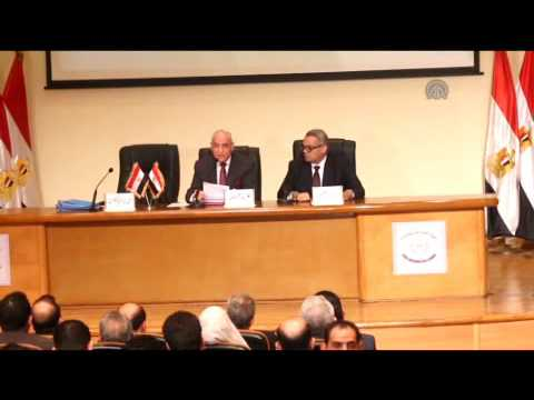 Press conference on Muslim Brotherhood Asset Freezing in Cairo