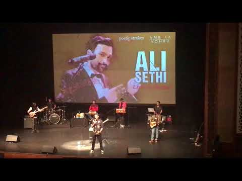 Ali Sethi Explains The Video of Chann Kithan - Live in Dubai 10 March 2018
