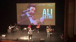Ali Sethi Explains The Video Of Chann Kithan - Live In Dubai 10 March 2018