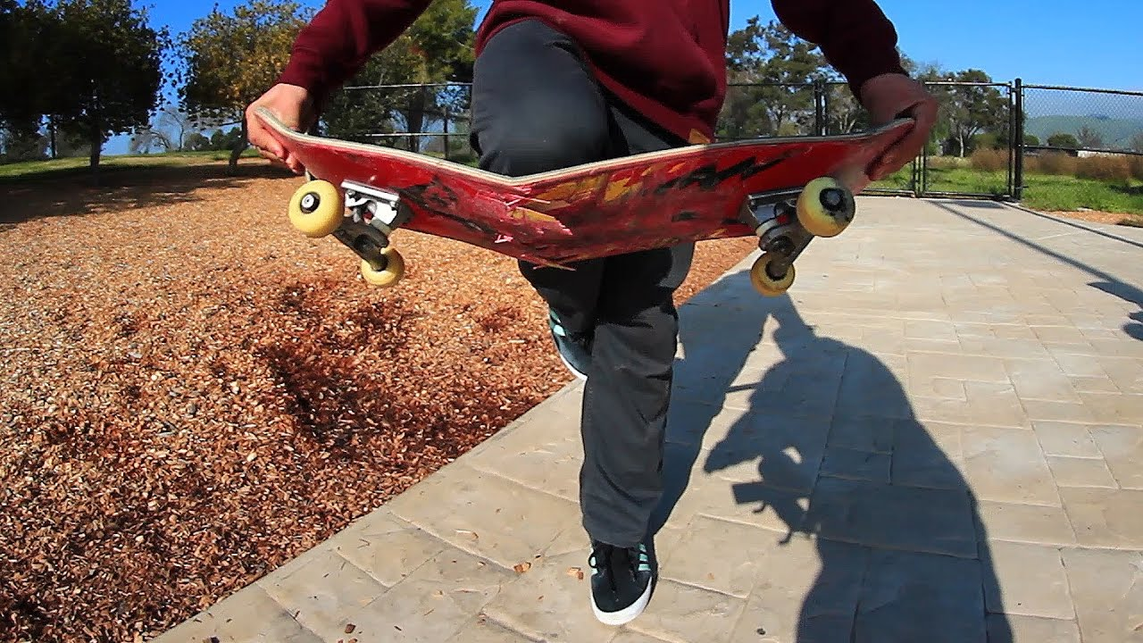 WHOLE SKATEPARK CONFIRMED WORST BOARD AT THE PARK!
