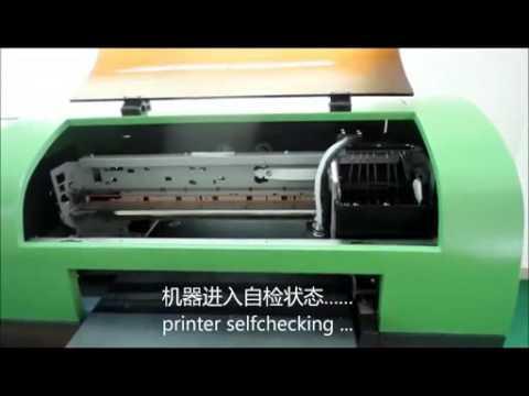 UV printer machine operation video printer installation 720x480