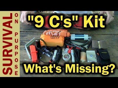 Hidden Woodsmen DIY Survival Kit List - Guess The Missing Item