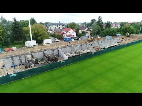 Budowa trybuny i hali sportowej przy bialskim stadionie
