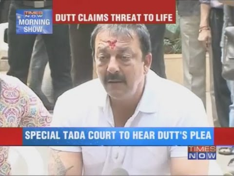 Sanjay Dutt cites threat to life