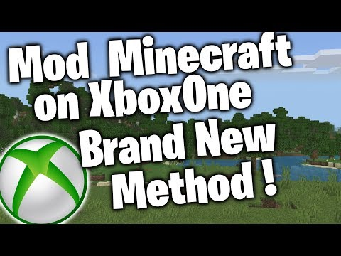 How To Download Minecraft Mods On XboxOne! Tutorial (NEW Method)