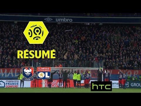 SM Caen - Olympique Lyonnais (3-2)  - Résumé - (SMC - OL) / 2016-17