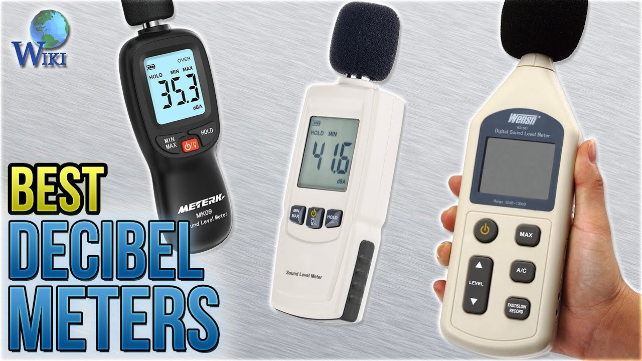 10 Best Decibel Meters 2018