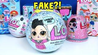 Fake LOL Sürpriz Yeni Yıl Özel Sürpriz Yumurtası Dışı Gerçek Gibi?! Zep'in Oyuncakları