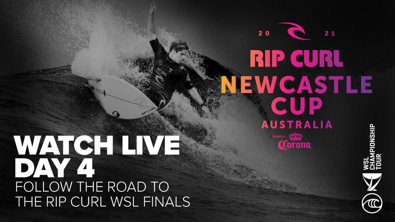 WATCH LIVE The Rip Curl Newcastle Cup   Men's Round Of 20