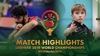 Mohammed Abdulwahhab vs Calum Morrison   2019 World Championships Highlights ( Group )