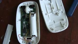 Переделка беспроводной мыши