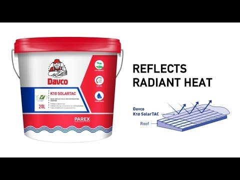 Davco K10 SolarTAC (Waterproofing & Heat shielding coating for roofs)