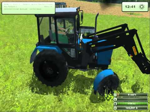 Мод МТЗ 82 Стогомет для Farming Simulator 2013