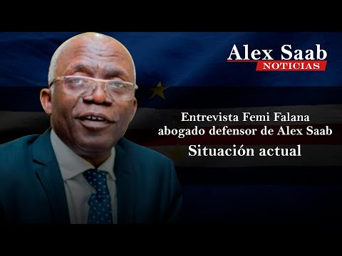 Alex Saab News - Entrevista a Femi Falana, abogado defensor de Alex Saab en Cabo Verde