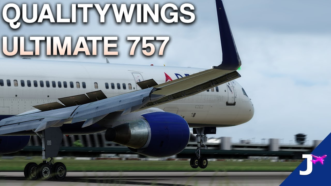 QualityWings Boeing 757 P3Dv4 First Impressions