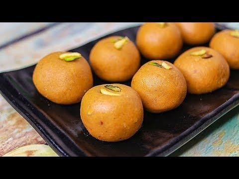 Besan Ke Ladoo Recipe | Traditional Indian Sweet Recipe For Festivals | Besan Laddu Recipe