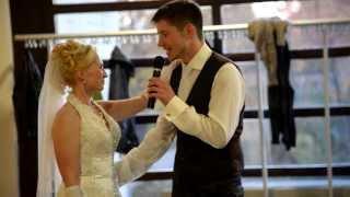 Жених поет для невесты / Cвадьба/Hochzeit/wedding/ Bräutigam singt für Braut / Groom sings for bride