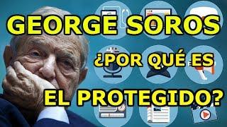 ¿PROTEGEN LOS MEDIOS DE COMUNICACIÓN A GEORGE SOROS?