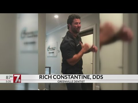 Greenville dentist takes part in dance challenge