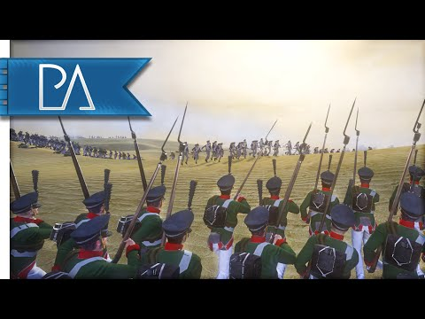 RUSSIAN BAYONET CHARGE - Napoleon Total War Gameplay